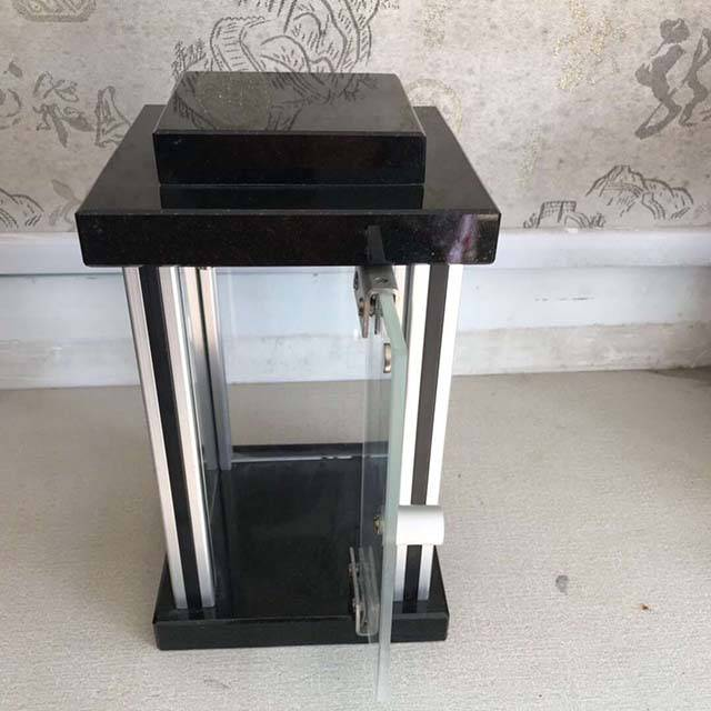 Funeral Candle Stone Square Lantern