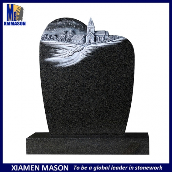 Laser Engraved Granite Headstone UK