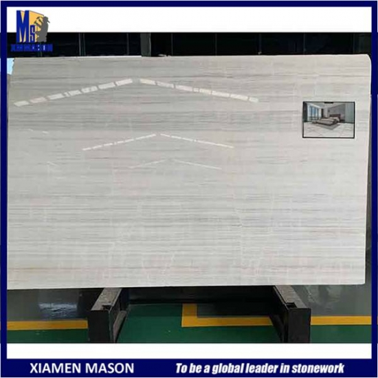 White Vein Marble Wall Slab
