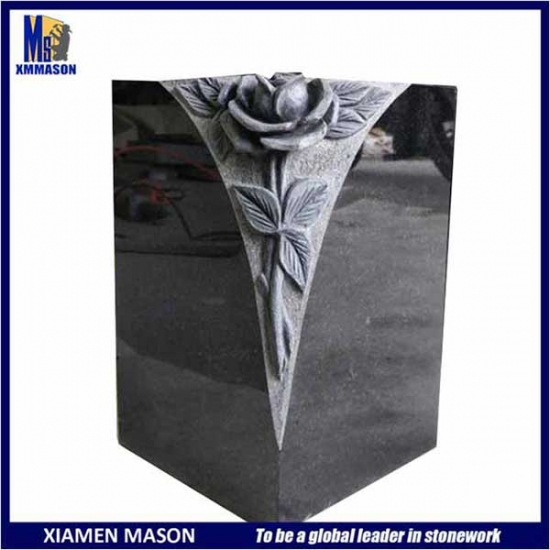 Wholesale Beautiful Stone Made Funeral Vase
